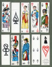 Collectable playing cards .Napoleon by StudioTratto di Menegazzi, Milan.